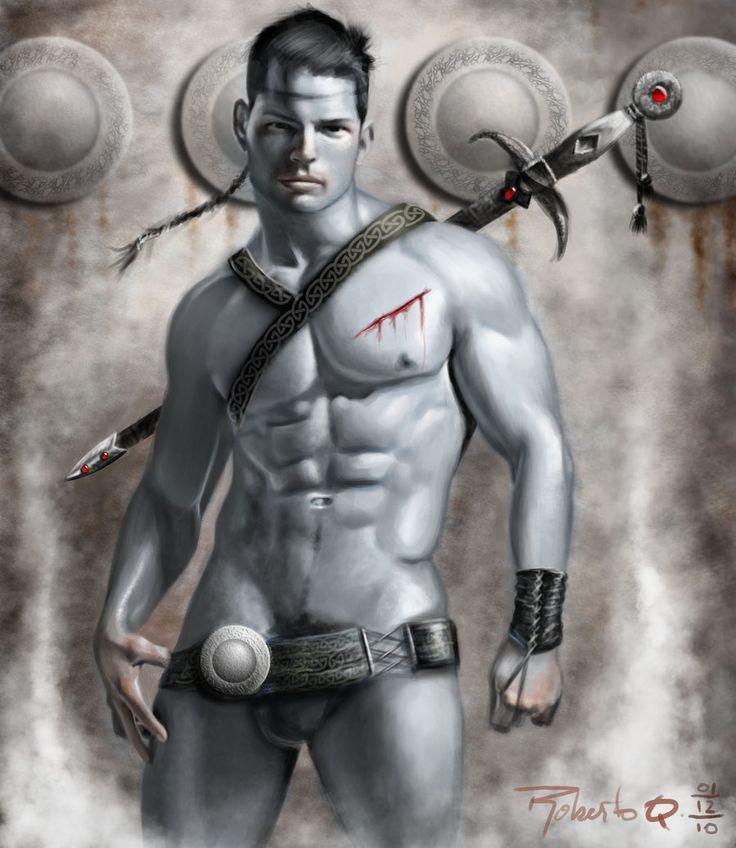 The Warrior by elGuaricho.deviantart.com on @deviantART