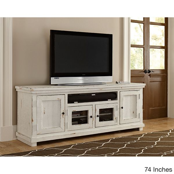 Willow Distressed White Entertainment Collection   Media ConsolesRooms  FurnitureClassic. Best 25  White entertainment centers ideas on Pinterest   Tv media