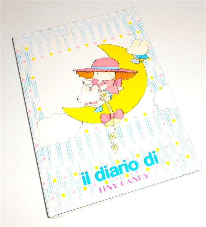 TINY CANDY 1983 Gakken Mondadori italy school diary - diario scuola nuovo kawaii