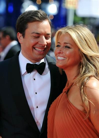 Jimmy Fallon, and wife/producer Nancy Juvonen. I'm actually ok with this.