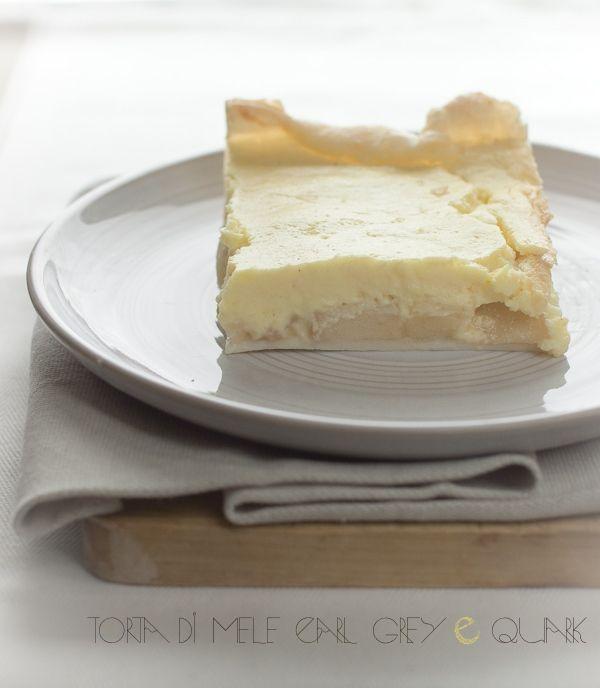 "Torta di Mele ""Earl Grey"" with quark"