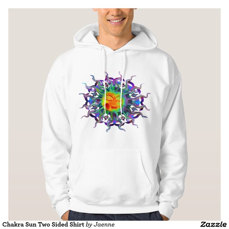 Chakra Sun Two Sided Shirt. Regalos Padres, fathers gifts, #DiaDelPadre #FathersDay