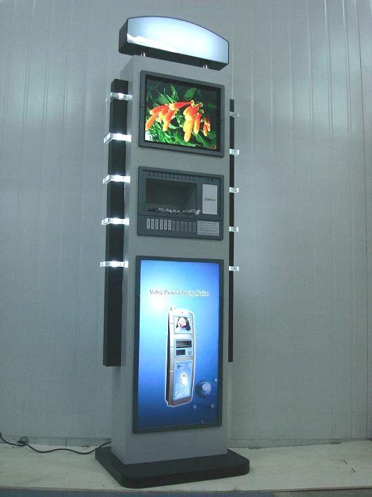 Solar Cell Phone Charging Kiosk