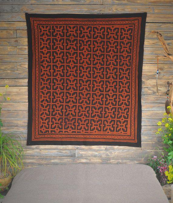 Shibipo handmade pattern  Natural coloring  by ShamanicaArts