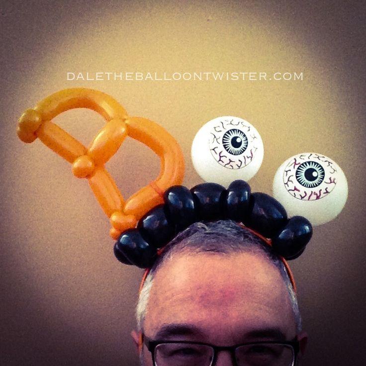 boo hairband balloon hatballoon animalsballoon designsballoon ideas halloween - Halloween Balloon Animals