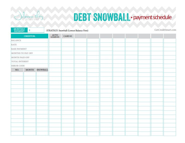 Best 25+ Debt snowball worksheet ideas on Pinterest | Dave ramsey ...