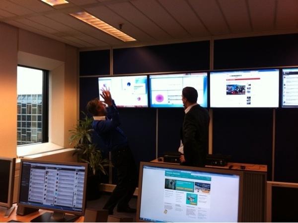 Hooggeplaatst bezoek @ social hub #Rabobank