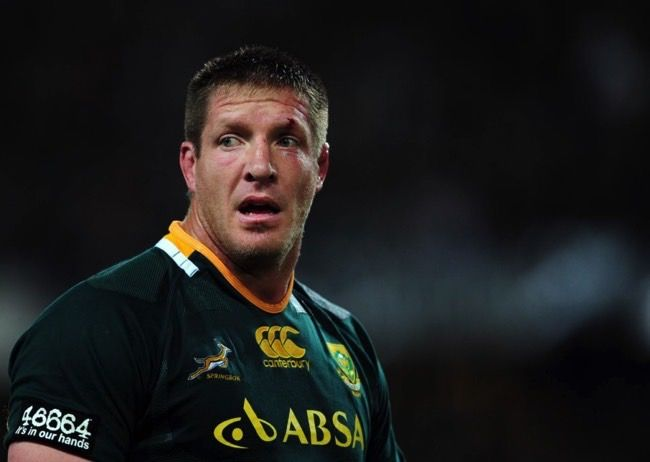 #7 Bakkies Botha, South Africa - $607,000 - A behemoth standing at 202cm in the Lock (second row) position,John Phillip Botha - or Bakkies to the rest of the world - plays for French team RC Toulonnais of Toulon. He is better known for his South African exploits playing for his home country's Springbok team since the age of 22.  Date of Birth: 22 September 1979. City of Birth: Newcaste, South Africa. Position: Lock