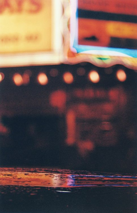 Times Square by Saul Leiter (1950's)