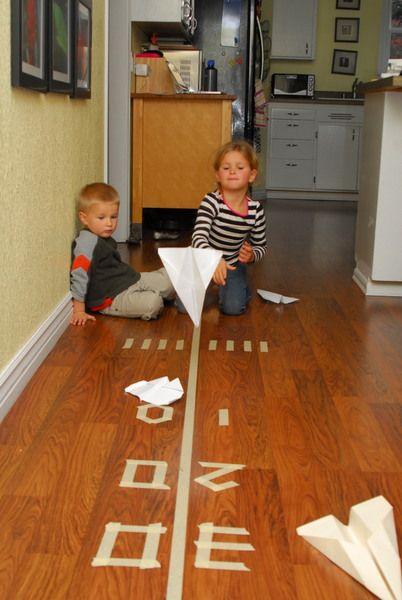 Paper Plane Tape Landing Strip - Meaningfulmama.com