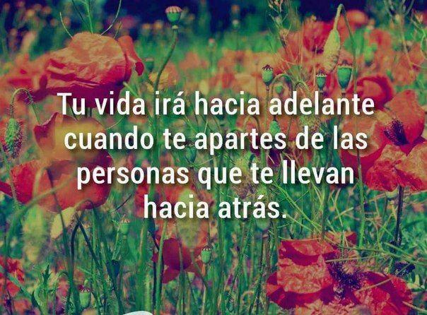 Твоя жизнь будет двигаться вперед, когда ты удалишься от людей, которые тянут тебя назад / Изучаем Испанский
