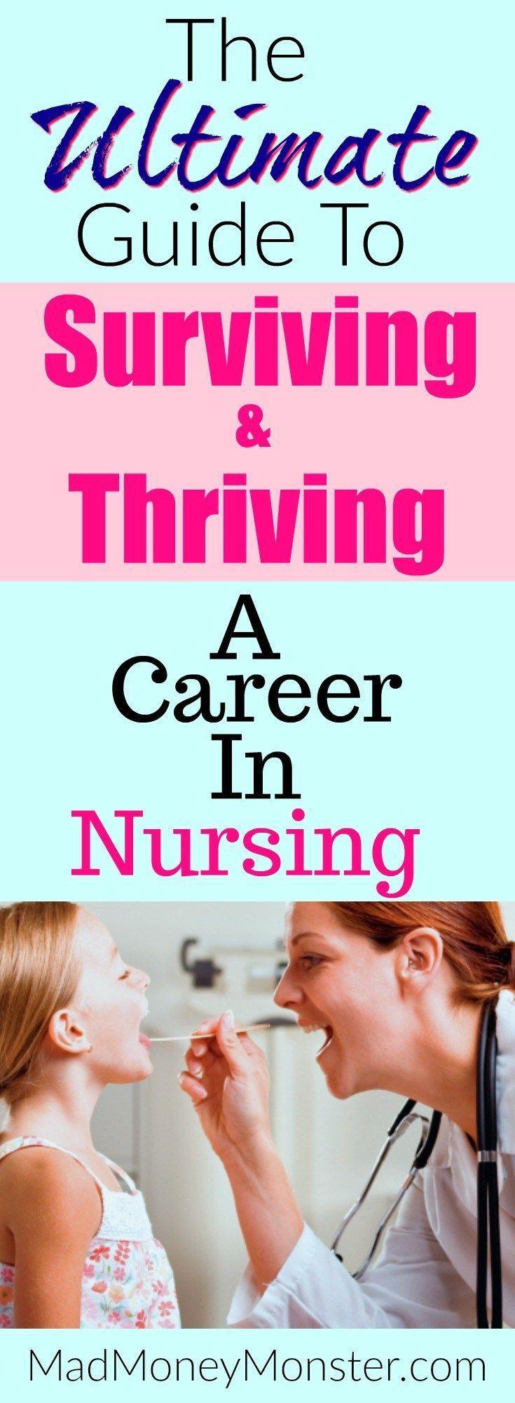 Nursing School   Careers In Nursing   Nursing Career   Nursing Survival Tips via @MadMoneyMonster