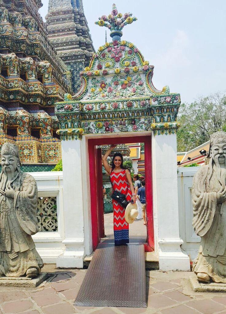 Wat Pho, the Temple of the Reclining Buddha, Bangkok