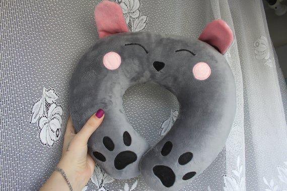 Neck pillow Bunny Rabbit Pillow under