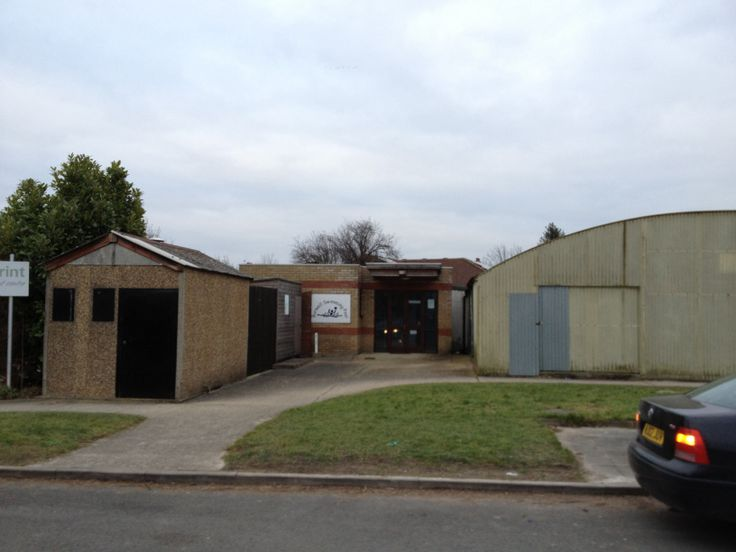 Burwell community swimming pool, Cambridgeshire.