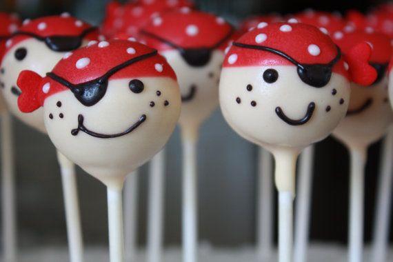 Pirate Cake Pops Bakerella