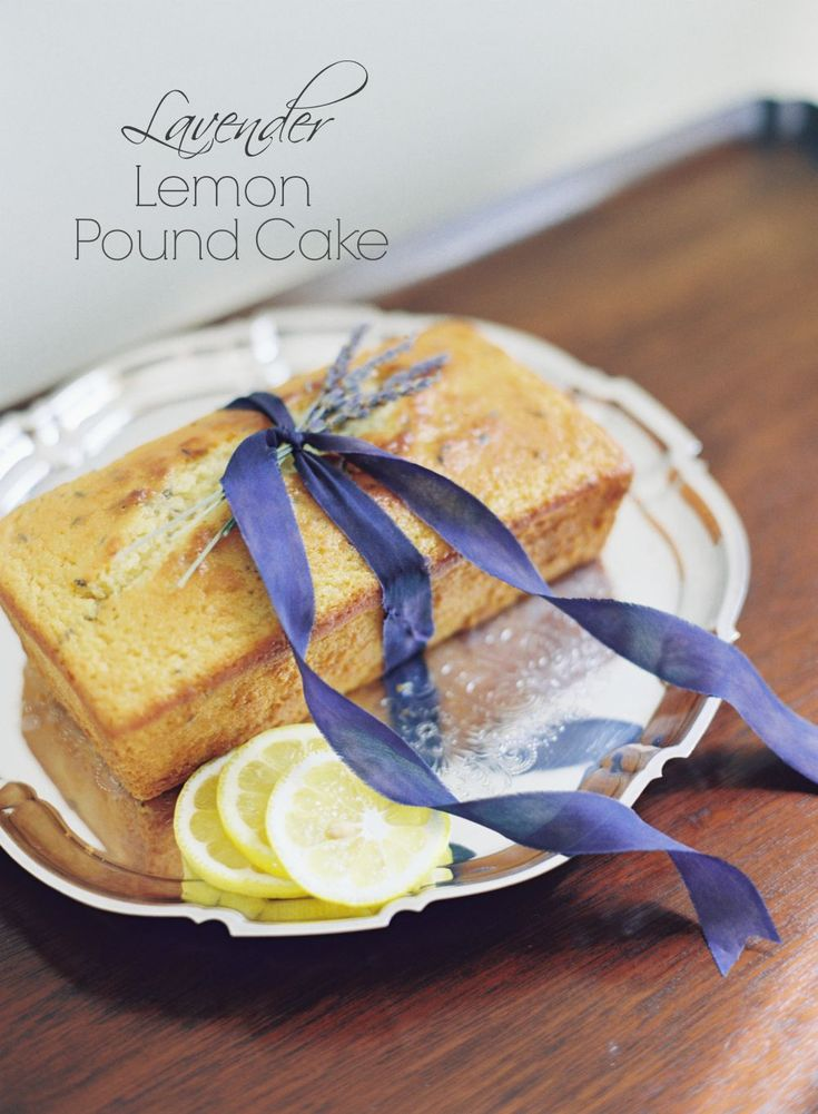 Lemon Lavender Cake Recipe