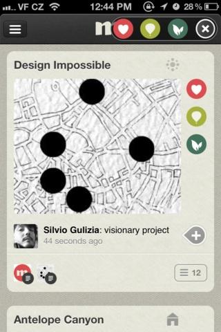 CircleMe. Идея интеракций для карты