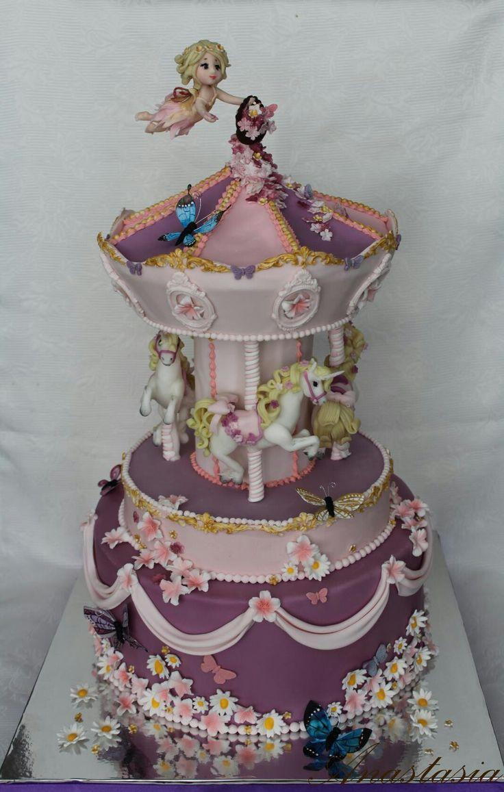 Carousel cake Торт карусель