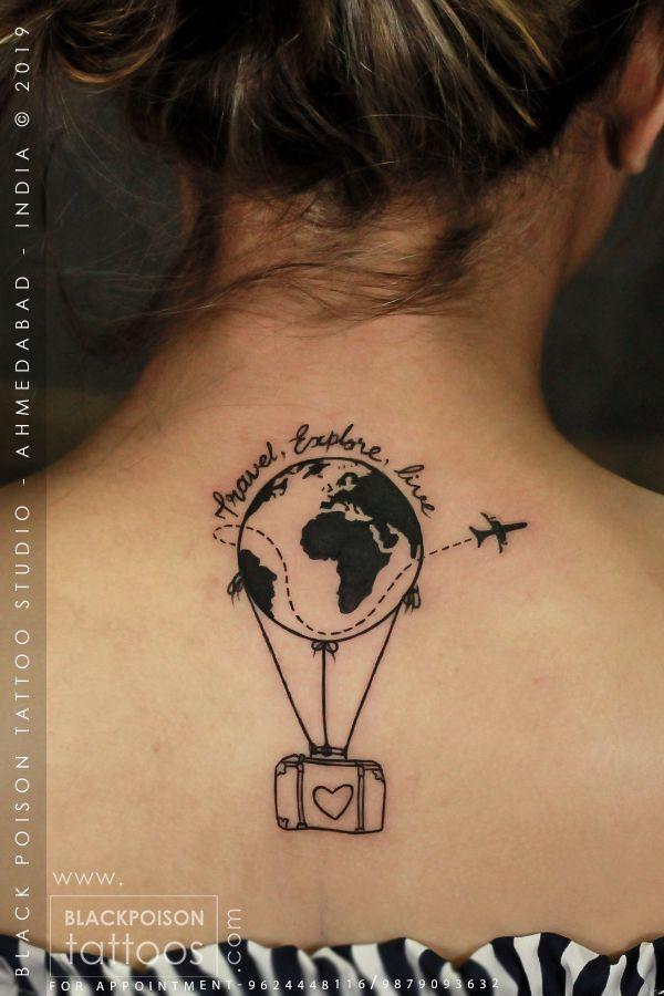 Globetattoo Traveltattoo Tattoo Tattoos Tattooideas