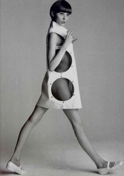 Vintage Andre Courreges cutout dress