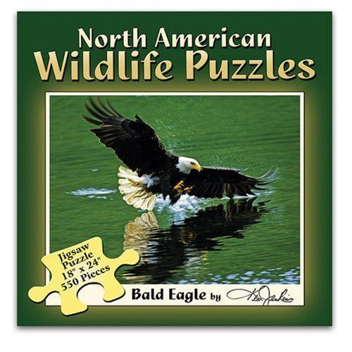 North American Wildlife Puzzles - Bald Eagle By Ken Jenkins
