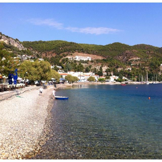 Limni on Evia Island in Greece