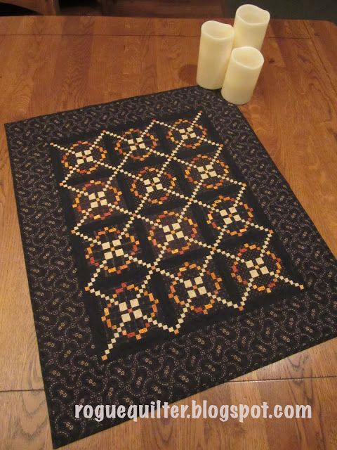 rogue quilter: The Making of a Mini Quilt--Part 2 (The Quilting)
