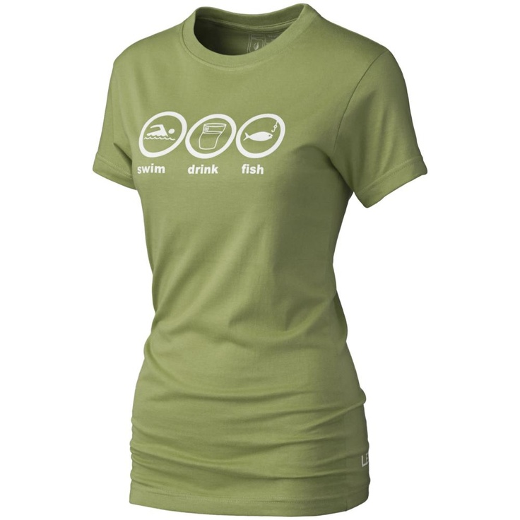 Level Six Swim.Drink.Fish. Short-Sleeved T-Shirt (Women's) - Mountain Equipment Co-op. Free Shipping Available