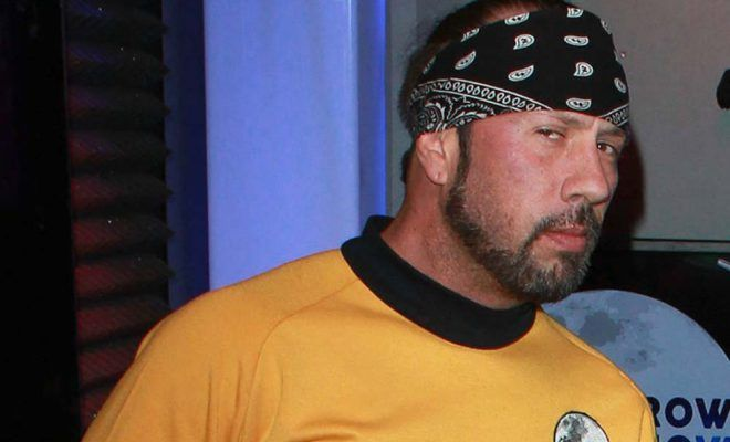Sean Waltman is arrested for alleged drugs charges