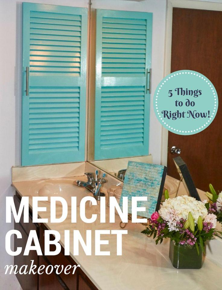 Spring Cleaning: Medicine Cabinet Makeover #SpringSaving AD
