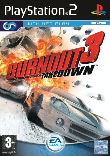 Burnout 3: Takedown (PS2) - http://www.cheaptohome.co.uk/burnout-3-takedown-ps2/  Burnout 3: Takedown (PS2) Short Description Great Games and Accessories for the Playstation 2 (PS2) from Gamesbuyer. Burnout 3: Takedown (PS2) Key Features List Price: £39.99 Price: £5.75