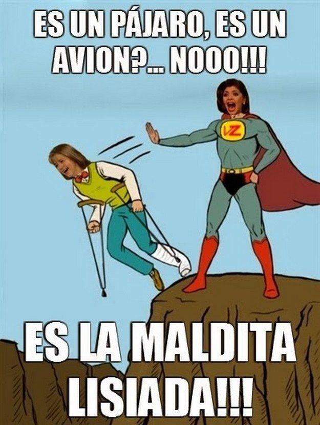 Soraya Superman.   Los 16 mejores memes de Soraya Montenegro