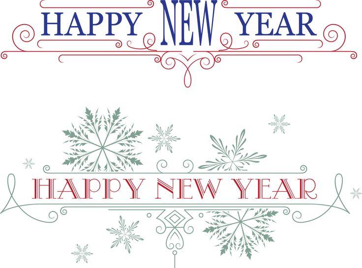 Надписи Happy New Year