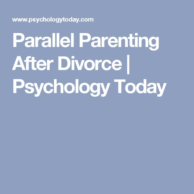 Learning from My Parents' Divorce