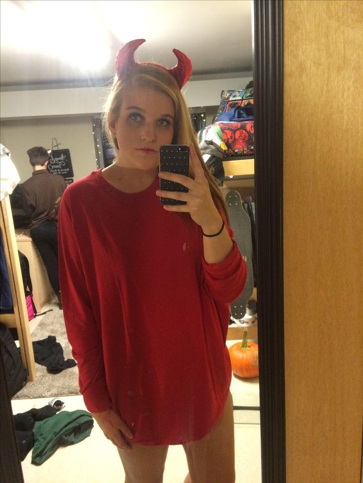 College Halloween Costume Devil Idea