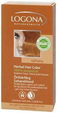 Herbal Hair Color Sahara - 100% natural hair dye