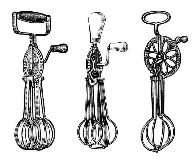 Vintage Kitchen Art Free Printable | free vintage kitchen hand mixers print | Digital Downloads & Clip Art ...