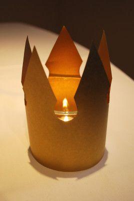 Krone als Lampe