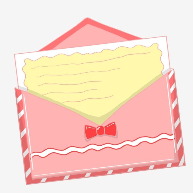 Love Envelope Hand Drawn Envelope Pink Envelope Envelope Illustration Red Bow Hand Painted Png Transparent Clipart Image And Psd File For Free Download Pink Envelopes How To Draw Hands Birthday Card