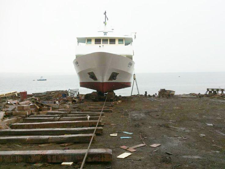 salvage of ship