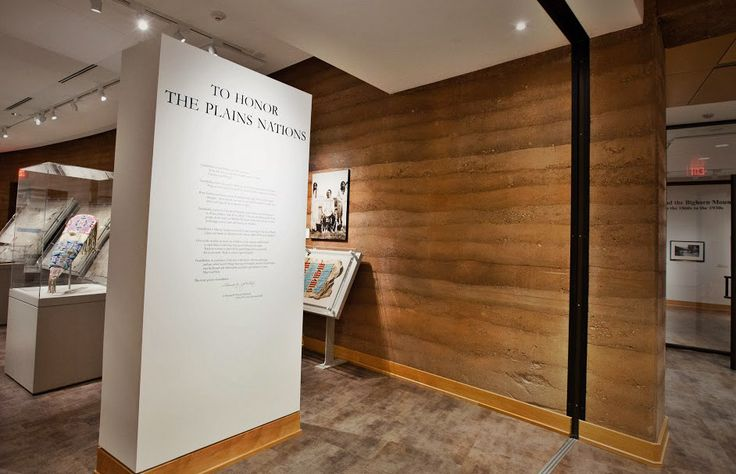 Inside spaces brought to life through use of SIREWAL for interior structural walls | Brinton Museum – SIREWALL | Structural Insulated Rammed Earth