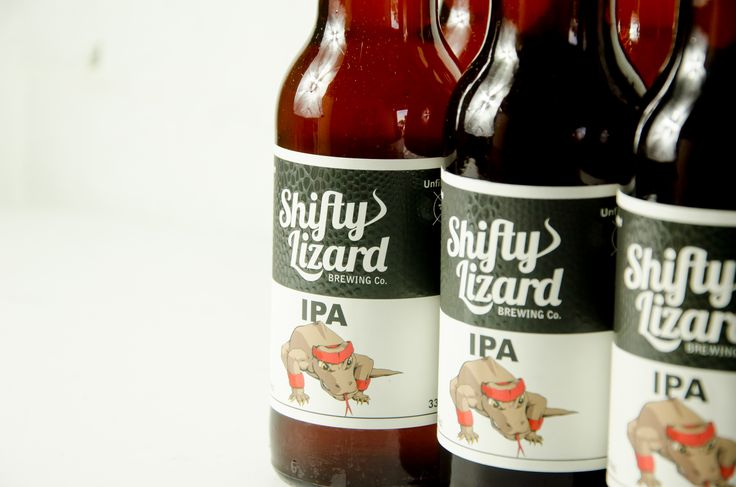IPA from South Australian craft brewery Shifty Lizard Brewing Co.