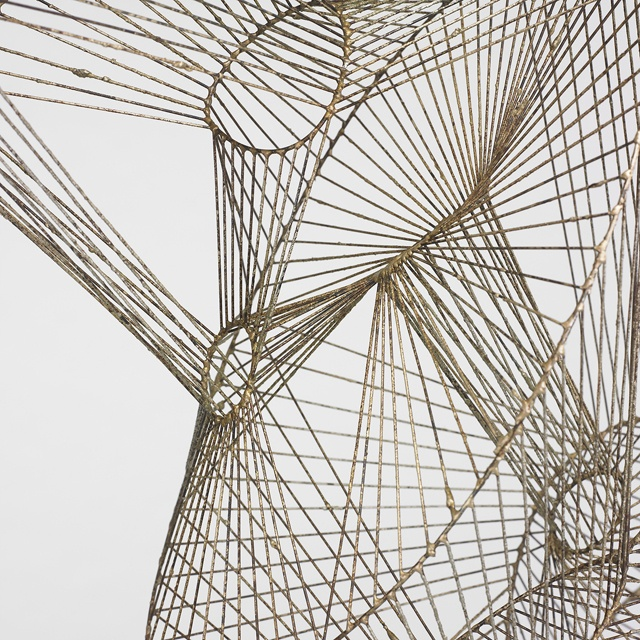 Harry Bertoia wire sculpture. find your inspiration visiting www.i-mesh.eu  and click I LIKE on FACEBOOK: https://www.facebook.com/pages/I-MESH/633220033370693