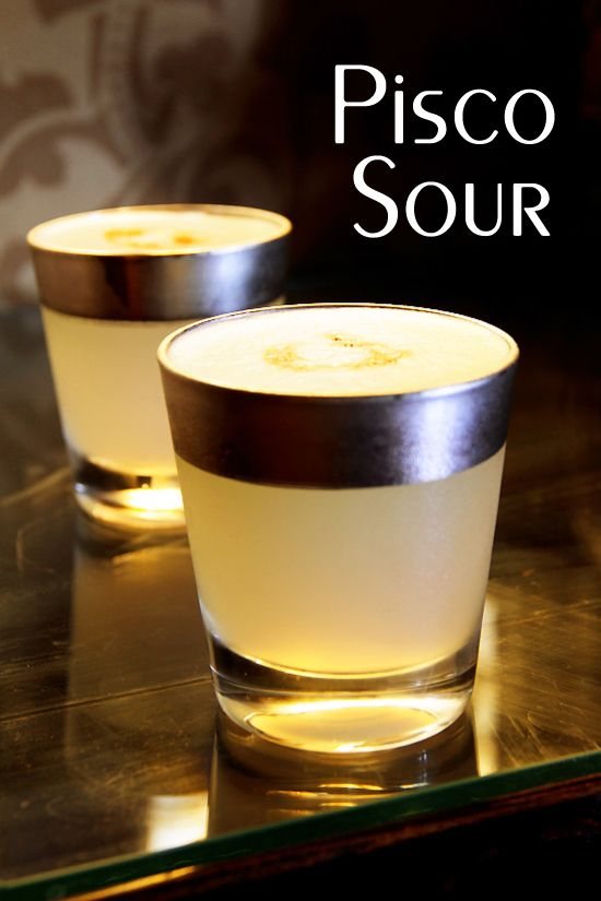 There are many variation on the Pisco Sour, but this is how to make a Pisco Sour as authentic to the original Peruvian version as possible.