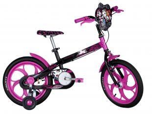 Bicicleta Infantil Caloi Monster High - Aro 16