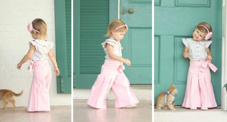 Little Girl Patterns - Violette Field Threads