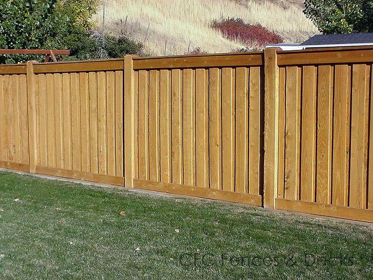 38 Best Images About Board Fences On Pinterest Brick