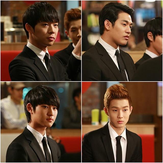 Rooftop Prince's F4 (S Korean Drama)!