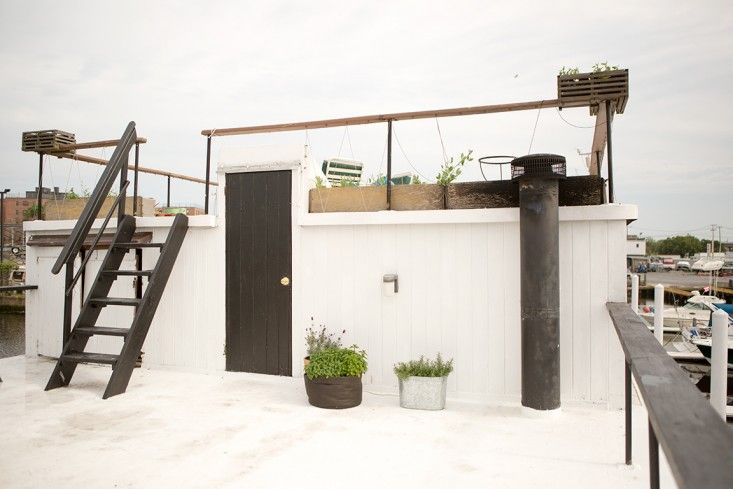Rehab Diary: The Ultimate Houseboat in NYC - Remodelista